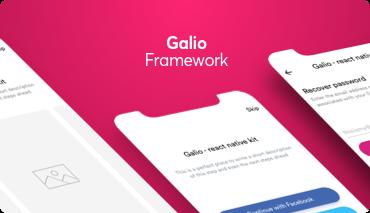 Galio Framework - Build better apps using react native @ galio